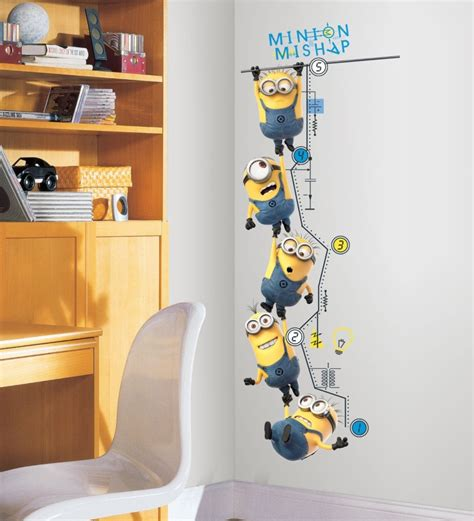 minion bathroom naughty minion themed kids room decor home designing