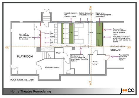 best home design layout small home theater floor plan