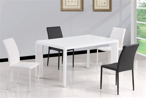 Simple Dining Tables Simple White Dining Table Miami Florida Chfio