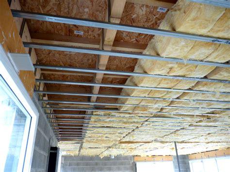 Construire Un Faux Plafond by Construire Un Plafond Isolation Id 233 Es