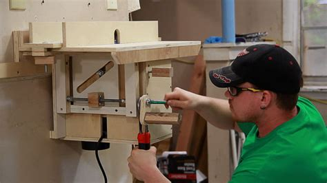 router table insert harbor freight cleat router table jays custom creations