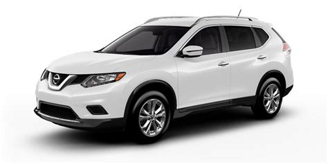 2016 Nissan Rogue Sl Awd Suv White Color At Nuevofence Com