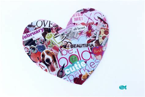 valentines day collage easy s day collage hearts activity arts