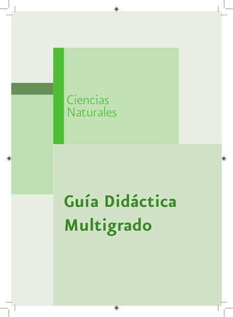 didactica para maestro by mauricio sanchez issuu guia didactica ciencias naturales by victor manuel navarro