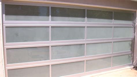 Frosted Glass Garage Doors Glassfrosted View Aluminum Frosted Sandblast Glass Garage Door