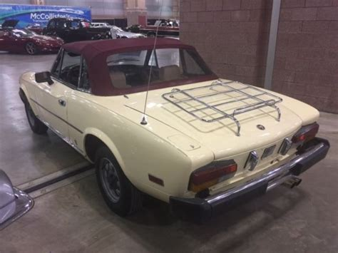 1980 fiat spider convertible 1980 fiat spider convertible standard shift for sale