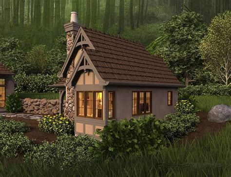 Whimsical House Plans by Whimsical Cottage Guest House Or Studio House Plan Hunters