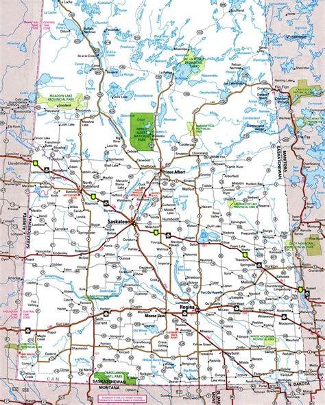map of canada roads highways map of saskatchewanfree maps of canada