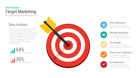 Target Marketing Powerpoint Keynote Template Slidebazaar Target Powerpoint Template