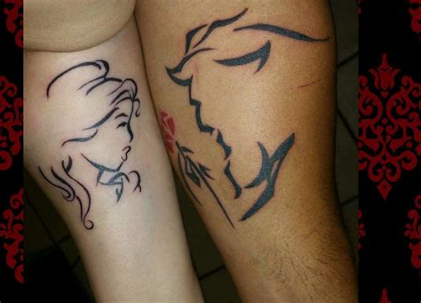 couples in love tattoos collection of 25 lettering for