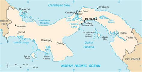 panama south america map panama wannadive net atlas mondial de de plong 233 e