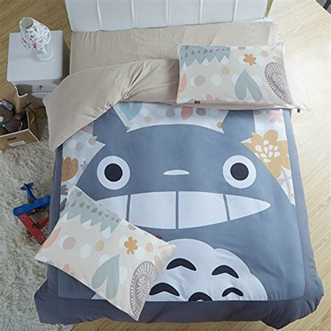 My Neighbor Totoro Bed Set Totoro Bed And Bedding Totoro Bed Set