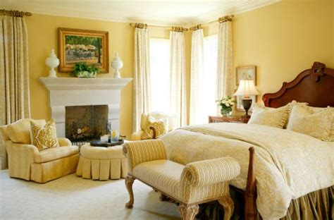 yellow master bedroom how to make a dark room appear lighter