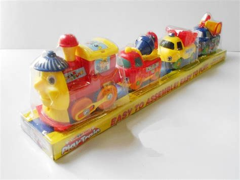 Mainan 233b 3 kereta mainan rel panjang mainan toys