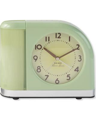 t miss deals on moonbeam alarm clock with usb port green