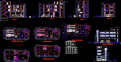 fire station dwg section  autocad designs cad