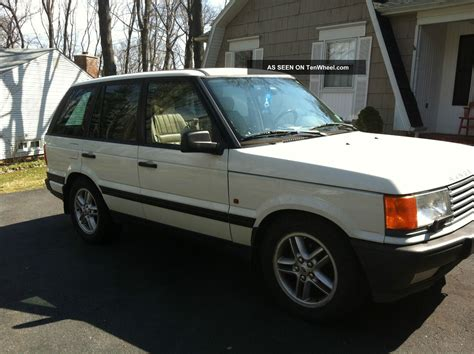 range rover 1999 1999 land rover range rover with