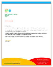 Business Letter With Letterhead Business Letter Template Using Letterhead Sample Business Letter