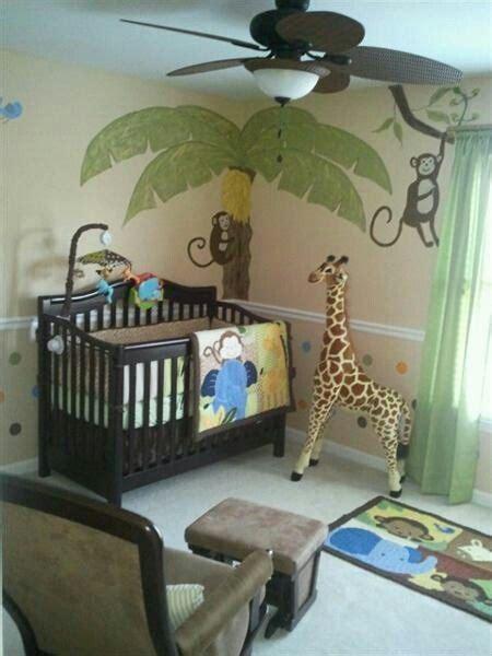 Jungle Theme Nursery For A Boy Nursery Pinterest Jungle Theme Nursery Decor