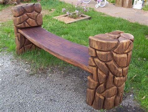 chainsaw bench carving chainsaw carved wood benches chainsaw carving the