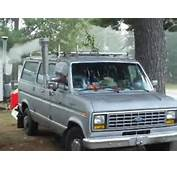 Woodburning Stove Installed In My 1983 Ford Van  YouTube