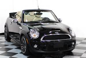 Used Mini Cooper Convertible 2014 Used Mini Cooper Convertible Certified Cooper S