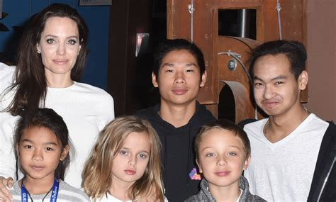 Brangelina And Baby Makes Six by S Six Look So Grown Up At Telluride