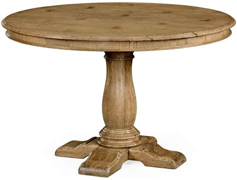 light oak pedestal dining table