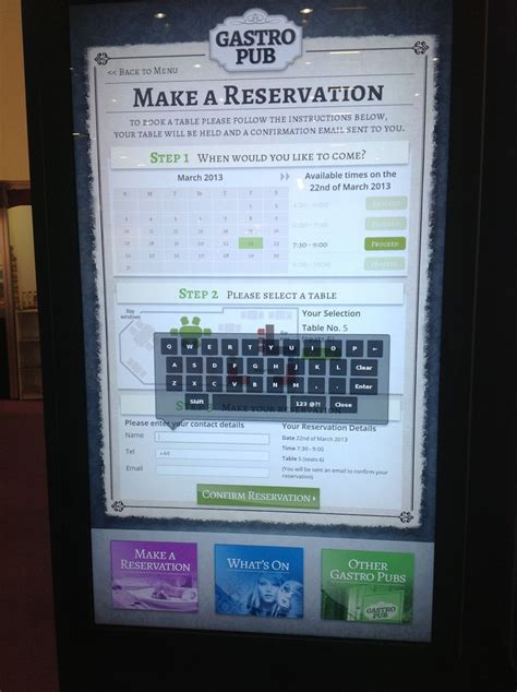digital board table 32 best images about kiosk ideas on national