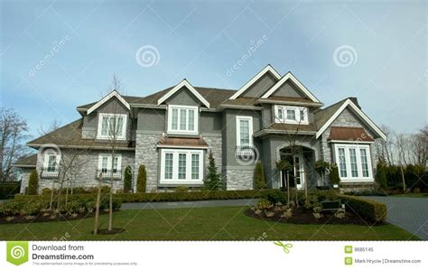 new home house exterior stock photo image of setting dream house exterior royalty free stock photo image 8685145