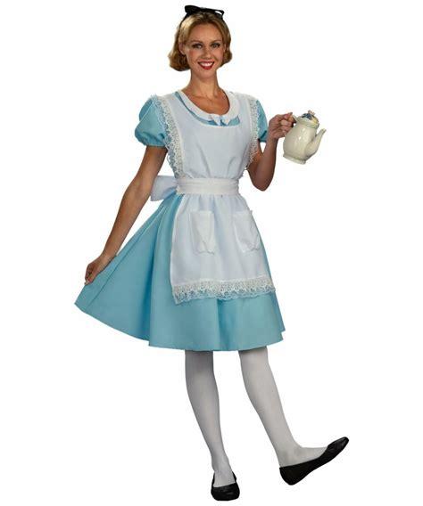 alice in wonderland costume alice in wonderland costumes alice classic in wonderl adult costume women alice costumes