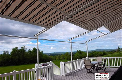 shade one awnings durasol pinnacle structure awning innovative openings