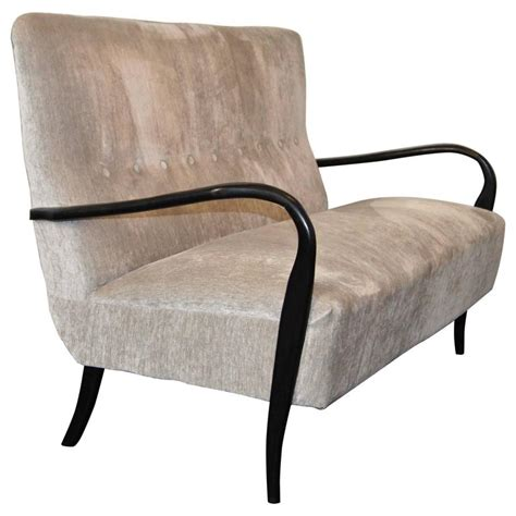 italian settee sculptural mid century italian sofa or settee for sale at