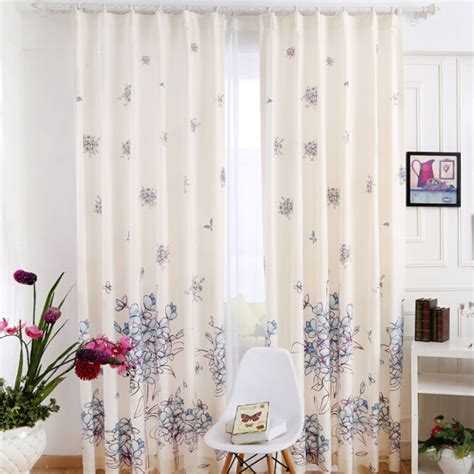 country bedroom curtains country style beige floral leaf blackout curtains bedroom