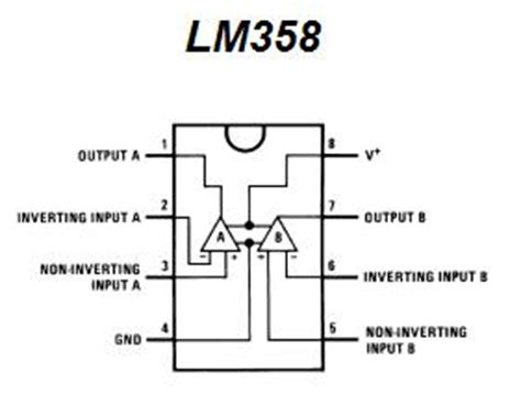 lm358 operational lifier integrated circuit lm358 ic pin configuration and applications