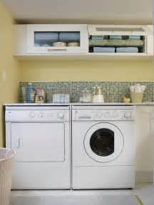 Laundry Room Accessories Storage 10 Clever Storage Ideas For Your Tiny Laundry Room Hgtv S Decorating Design Hgtv