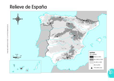 leer libro e atlas geografico de espana y el mundo en linea mapa mudo relieve de espac3b1a profesorpaco
