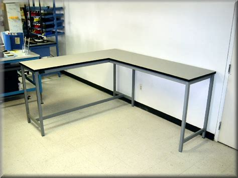 l shaped work bench l shaped stainless steel work bench home ideas