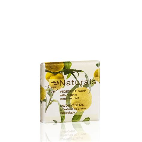 Lemon Soap 15g naturals vegetable soap in paper wrap 15g care