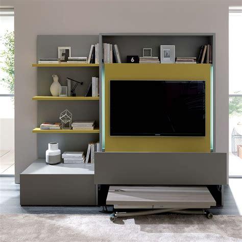 living mobili soggiorno smart living l mobile soggiorno in legno con 3 mensole