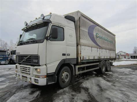 volvo trucks price used volvo fh 12 6x2 4800 curtain side trucks year 1997