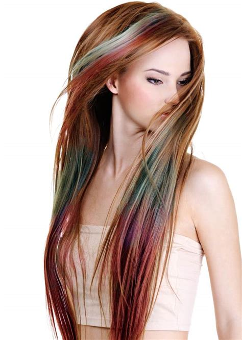 light auburn hair color pictures how to color hair with chalk in 6 easy steps the model