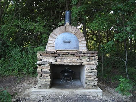 making a pizza oven backyard diy outdoor pizza oven gearfuse