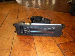 Jeep Xj Heater Jeep Xj Heater Fan Switch A C 1987 1996
