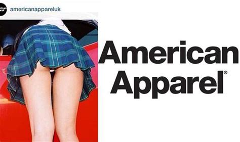 american apparel banned ads american apparel back to school skirt adverts banned
