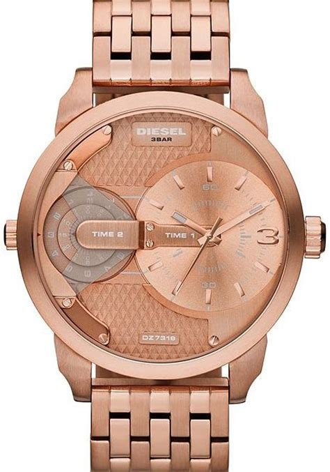Mini Cooper Chrono Mens Black Rosegold 3 32 best images on diesel wrist watches and leather