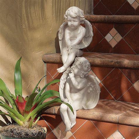 shop design toscano angels of meditation and contemplation