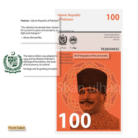 Dasi Note pakistan new currency new features the design