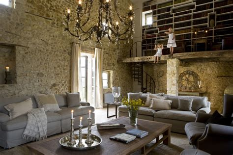stone house interior antique farm turned into dream stone house decoholic