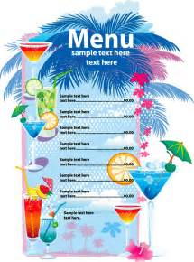 free menu design template 25 free restaurant menu templates